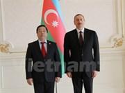 Le Vietnam apprécie ses relations d'amitié traditionnelles avec l'Azerbaïdjan