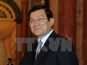 Le président Truong Tan Sang participera au Sommet afro-asiatique