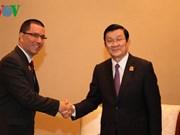 Le président vietnamien rencontre des dirigeants vénézuélien, angolais et tunisien