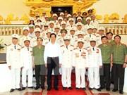 Le PM rencontre d'anciens volontaires de la sécurité pour le front du Sud