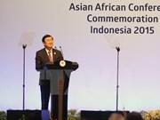 Truong Tan Sang à la cérémonie commémorative de la Conférence de Bandung