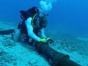 Le câble sous-marin AAG endommagé