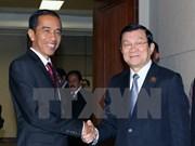 Entretiens du chef de l'Etat au Sommet afro-asiatique