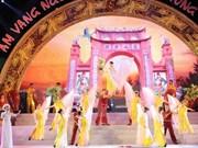 Programme artistique en l'honneur de la fête du Temple des rois Hung 2015