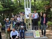 Célébration des 50 ans du mouvement Beheiren à Tokyo