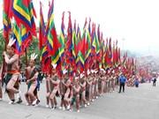 Fête en commémoration des rois Hung à Phu Tho
