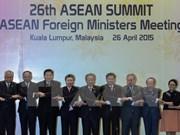 Déclaration du président du 26e Sommet de l'ASEAN sur la Mer Orientale