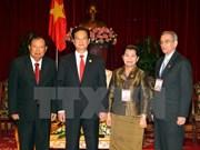 Le PM reçoit des délégations laotienne, cambodgienne et cubaine
