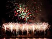 L'Australie gagne le concours international de feux d'artifice de Da Nang