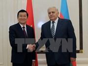 Le chef d'Etat rencontre des hauts dirigeants azerbaïdjanais
