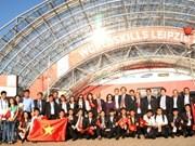Le Vietnam au concours mondial des métiers en Allemagne