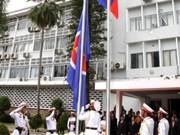 Le Laos hisse le drapeau de l'ASEAN