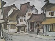 Les rues de Hanoï en peinture
