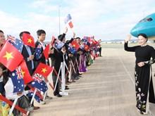 Activités de la présidente de l'Assemblée nationale Nguyen Thi Kim Ngan en Australie