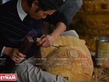 Un village de fabrication de cloches bouddhiques en bois à Hué
