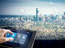 Edification de villes intelligentes-tendance de la révolution industrielle 4.0