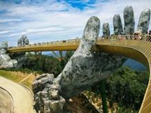 Le pont d'Or à Da Nang, l'un des ponts piéton les plus impressionnants au monde