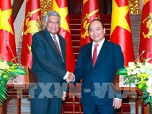Visite officielle du  Premier ministre sri lankais au Vietnam