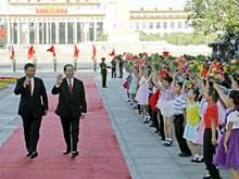 Le président vietnamien en visite d'État en Chine