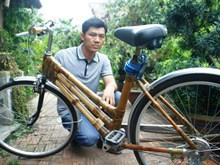 Vélo en bambou – Nouveau produit touristique de Hoi An