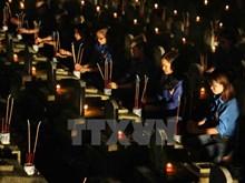 Veillées aux bougies en hommage aux morts pour la Patrie