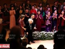Un concert honore l'Artiste et Enseignante du Peuple Thai Thi Liên