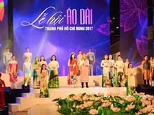 Le Festival de l'ao dai dans toute sa splendeur