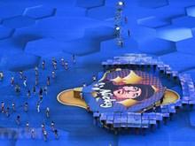 Des images impressionnantes de la cérémonie de clôture de la Coupe du monde 2018