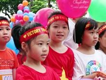 La Foire « Bouger pour mon poumon sain » à Hanoï