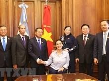 Le vice-président de l'AN vietnamienne en visite en Argentine