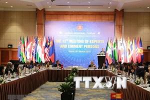 ASEAN : le groupe d'experts et personnes éminentes de l'ARF se réunit à Hanoï