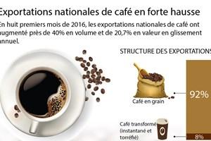 Exportations vietnamiennes de café en forte hausse