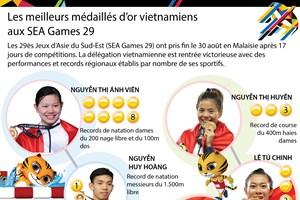 Les meilleurs médaillés d'or vietnamiens aux SEA Games 29