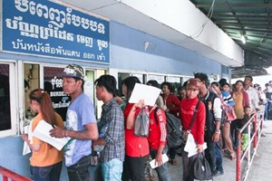 Thaïlande, Malaisie et Singapour, destinations pour les travailleurs migrants de l'ASEAN