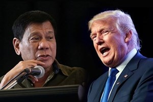 APEC 2017 : Première rencontre entre Donald Trump et Rodrigo Duterte