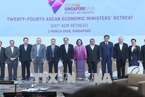 Les ministres de l'Economie de l'ASEAN se réunissent à Singapour
