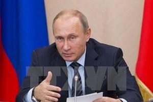Le président russe apprécie les sujets de l'APEC 2017