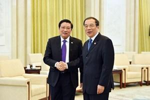 Une délégation du PCV  effectue une visite de travail en Chine