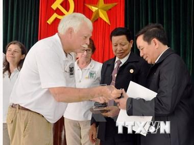 Distinction de l'Organisation des anciens combattants américains au Vietnam