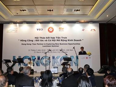 Hong kong chine cherche renforcer la coop ration for Chambre de commerce chine