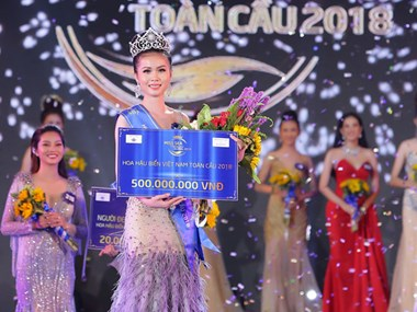 Nguyen Thi Kim Ngoc sacrée Miss Sea Vietnam Global 2018
