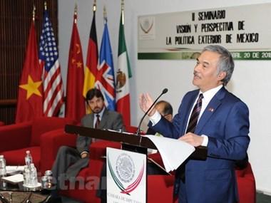 Présentation sur la Communauté de l'ASEAN au Mexique