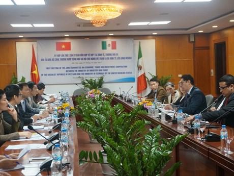 Réunion du Comité mixte Vietnam-Mexique sur la coopération économique