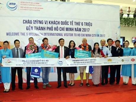 Ho Chi Minh-Ville accueille son 6 millionième touriste étranger