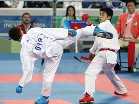 Ouverture du 7e Championnat de karaté d'Asie du Sud-Est à Bac Ninh