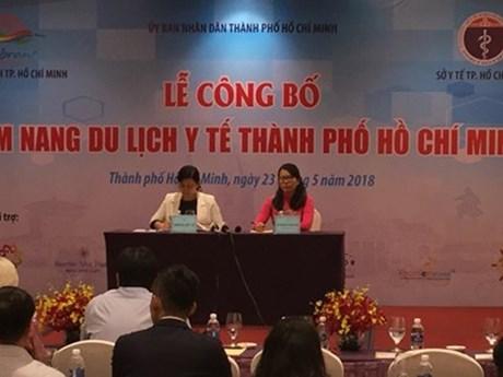 Présentation du guide-âne du tourisme médical pour les visiteurs à Hô Chi Minh-Ville