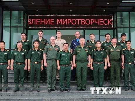 Maintien de la paix : Améliorer la coopération entre le Vietnam et la Russie