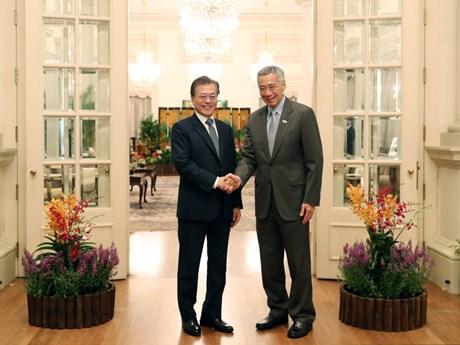 La République de Corée souhaite intensifier ses relations avec Singapour et l'ASEAN
