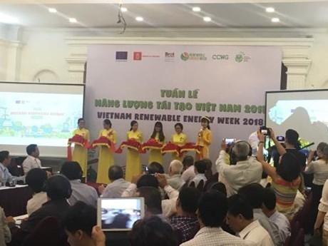 Semaine des énergies renouvelables du Vietnam 2018