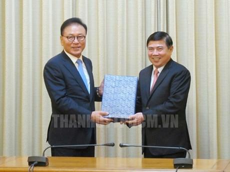 Ho Chi Minh-Ville promeut ses relations économiques avec Busan